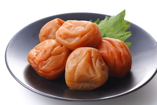 Pickled plums  umeboshi